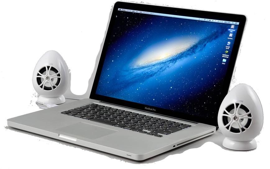 Macには高音質スピーカーのOlasonic
